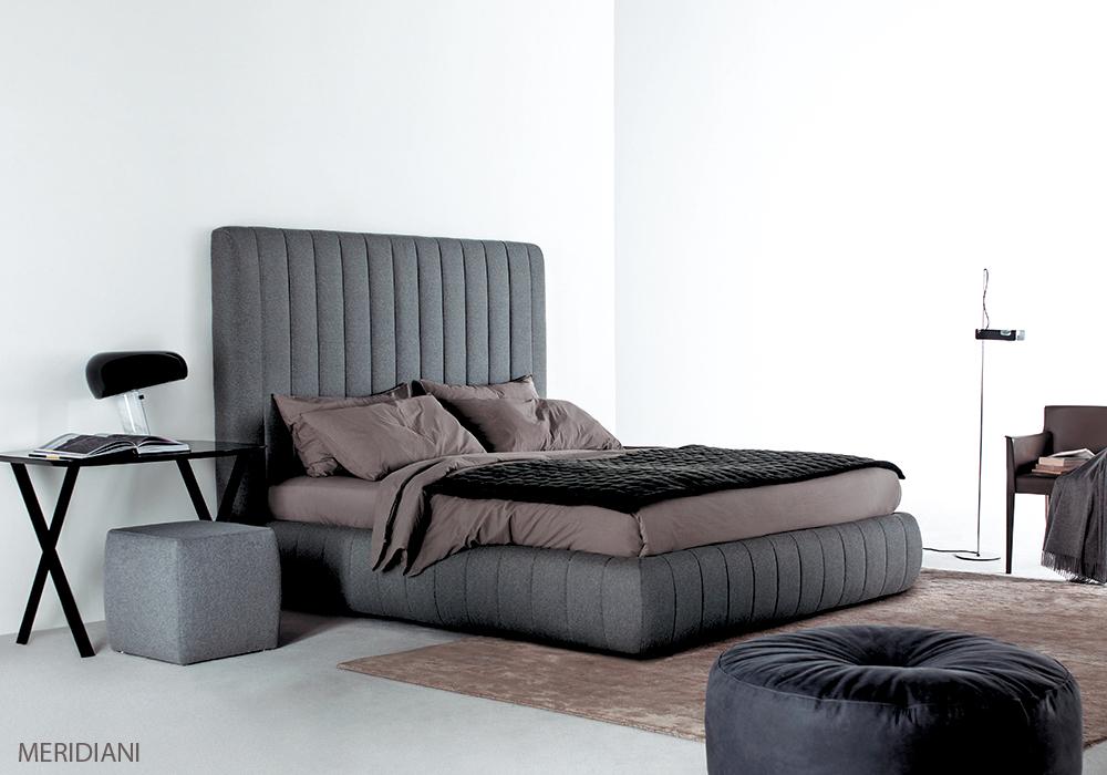 Betten von Meridiani. Möbel für das Schlafzimmer.